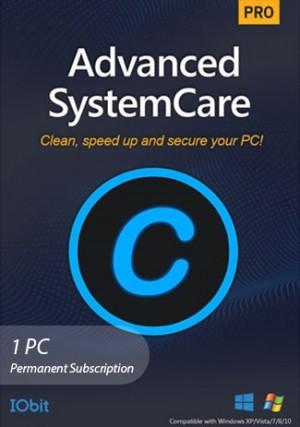 Advanced SystemCare 15 Pro - 1 PC (Permanent Subscription)
