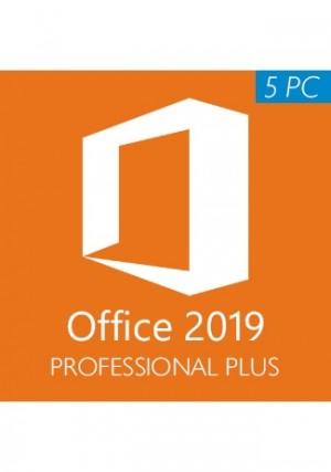 Microsoft Office 2019 Professional Plus CD-KEY (5PC)