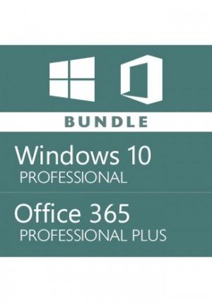 Windows 10 Pro + Office 365 Account -Bundle